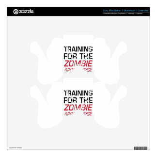 Training for the Zombie Apocalypse PS3 Controller Skins