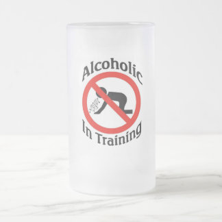 Training Frosted Glass Beer Mug