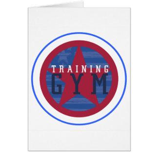 Training Gym Logo Card