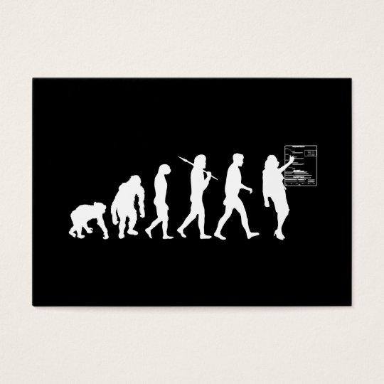 Training Project Managers Executives Evolution Business Card