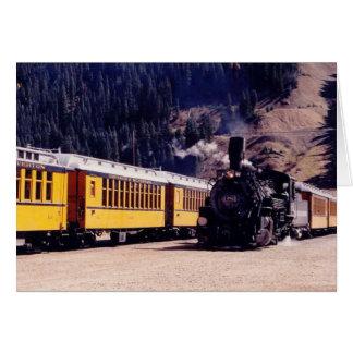 trains1 tarjeta de felicitación