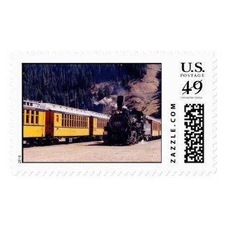 trains1 timbre postal