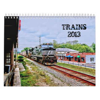 TRAINS 2013 CALENDAR