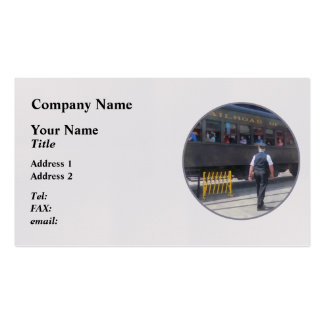 Trains - All Aboard Business Card Templates