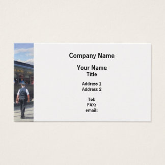 Trains - All Aboard Business Card