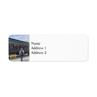 Trains - All Aboard Label