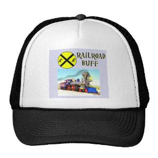 Trains And Railroad Buffs Mesh Hat
