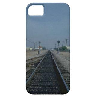 Trains and tracks - Local halt iPhone SE/5/5s Case