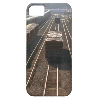 Trains and tracks - rail road siding iPhone SE/5/5s case