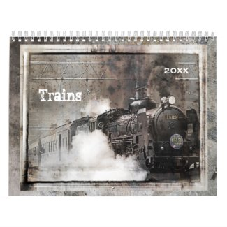 Trains Calendar 2016