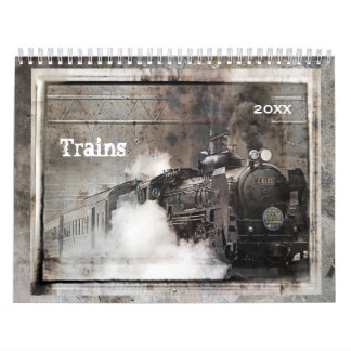 Trains Calendar 2017