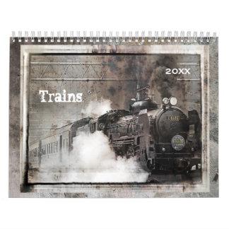 Trains Calendar 2018