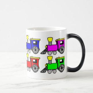 trains magic mug