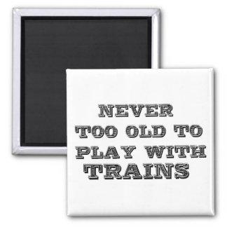 Trains Fridge Magnets
