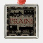 TRAINS Ornament