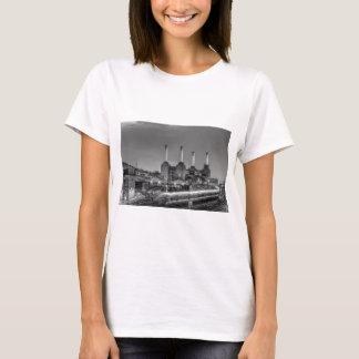 Trains pass Battersea Power Station, London T-Shirt