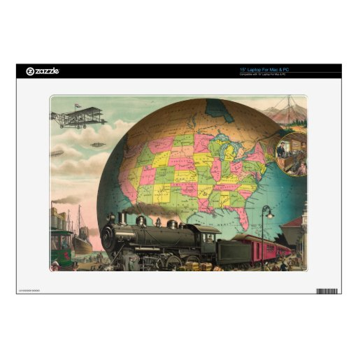 """Trains, Planes & Everything Else 15"""" Laptop Decals"""
