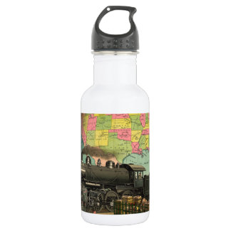 Trains, Planes & Everything Else 18oz Water Bottle