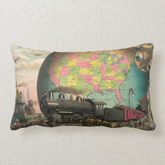 Trains, Planes & Everything Else Pillow