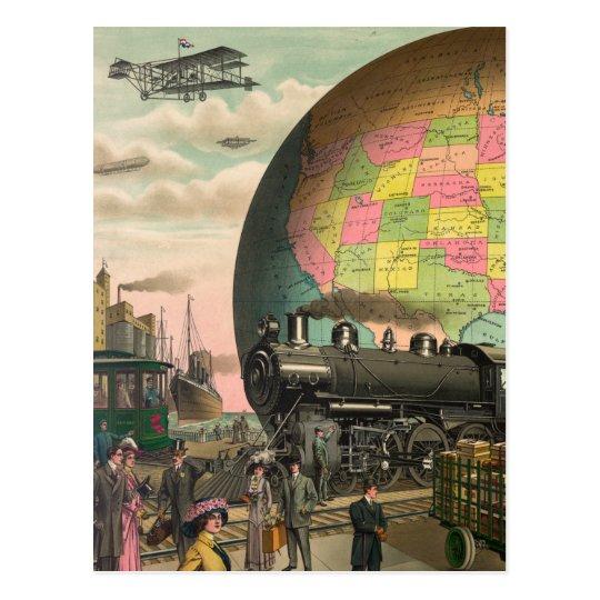Trains, Planes & Everything Else Postcard