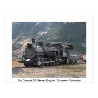 Trains Post Card Postcard