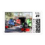 Trains Postage Stamps