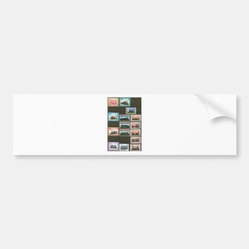Trains, railways, locomotives 1 bumper sticker