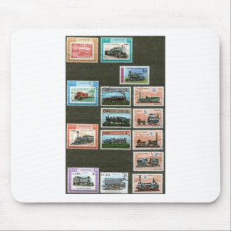 Trains, railways, locomotives 1 mouse pad