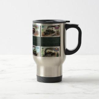Trains, railways, locomotives 2 coffee mug