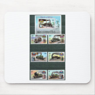 Trains, railways, locomotives 2 mouse pad