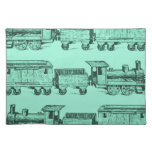 Trains Trains and still Trains Cloth Placemat