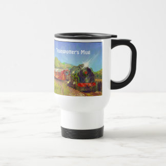 Trainspotter's Coffee Break Drinkware Mug