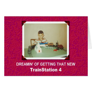 Trainstation 4 card