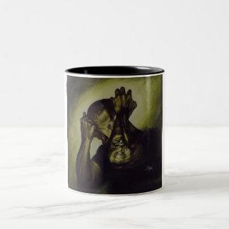 Trainwreck Two-Tone Coffee Mug
