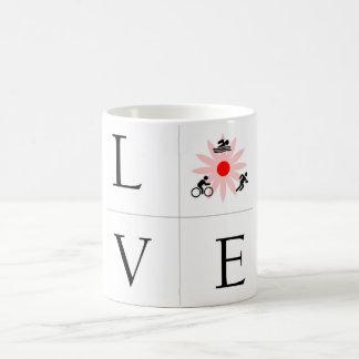 Traithalon Coffee Mug - Love