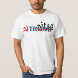 """Traitor Trump T-Shirt<br><div class=""""desc"""">Let everyone know that Putin is American&#39;s friend now.</div>"""