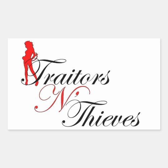 Traitors N' Thieves Sticker