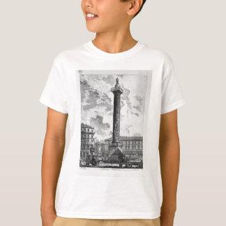 Trajan`s Column by Giovanni Battista Piranesi T-Shirt