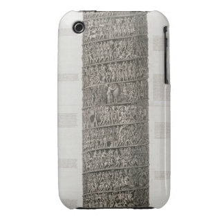 Trajan's Column (engraving) iPhone 3 Case-Mate Cases