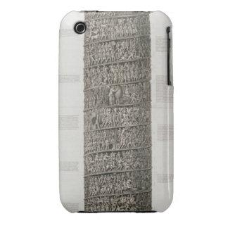 Trajan's Column (engraving) Case-Mate iPhone 3 Case