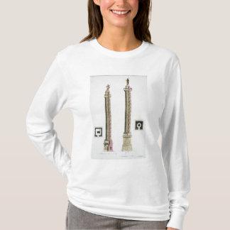 Trajan's column, Rome, from 'Le Costume Ancien et T-Shirt