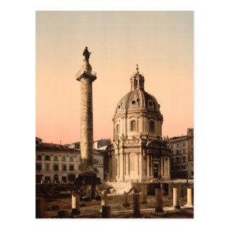 Trajan's Column, Rome, Lazio, Italy Postcards