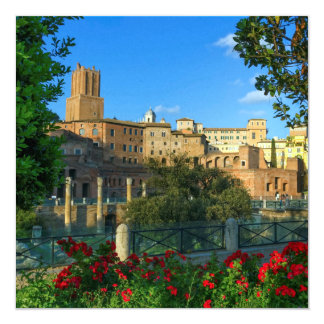 Trajan's forum, Traiani, Roma, Italy Card