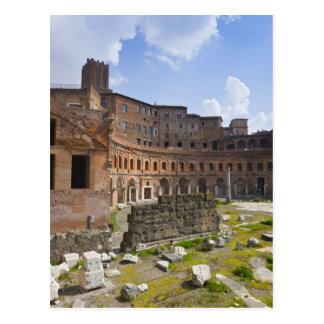 Trajan's Market (Latin: Mercatus Traiani, Postcard