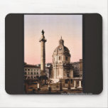 Trajan's Pillar, Rome, Italy classic Photochrom Mouse Pad