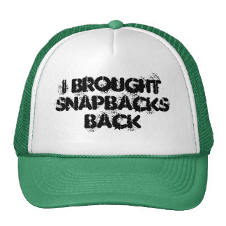 Traje a Snapbacks Snapback trasero Gorros Bordados