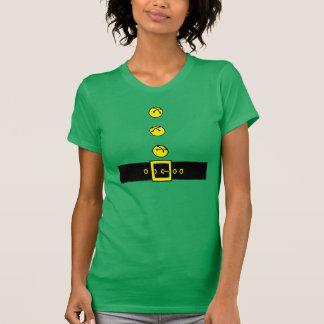Traje alegre del duende tee shirts