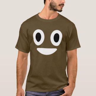 Traje de Emoji Halloween del impulso Playera