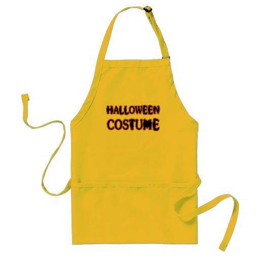 Traje de Halloween Delantales