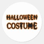 Traje de Halloween Pegatina